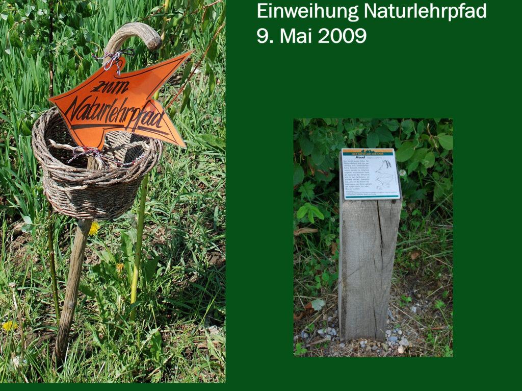V011-Eröffnung Naturlehrpfad 2009